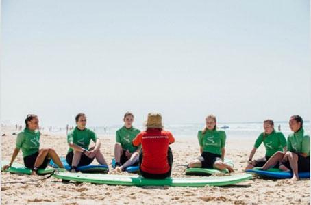 Surfkamp Frankrijk voor jongeren