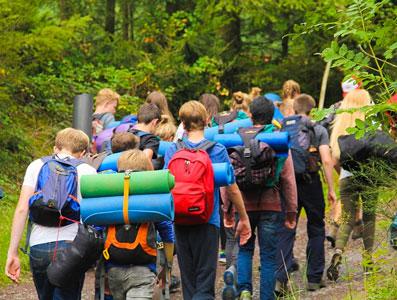 Vakantiekampen in de Ardennen voor tieners en jongeren