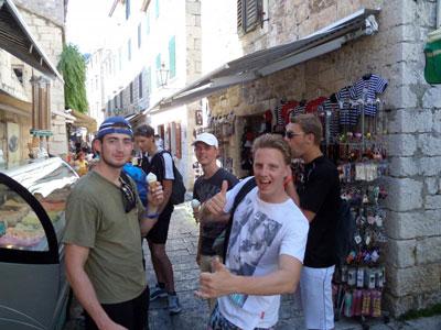 Vakantiekamp Kroatië voor jongeren
