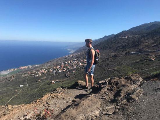 Uitzicht over La Palma