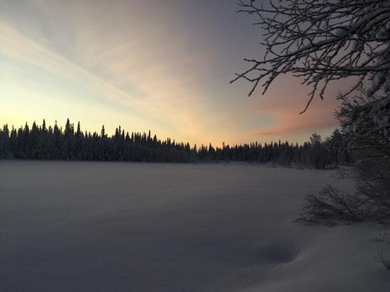 Op zoek naar het noordenlicht in Lapland