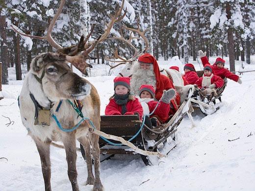Vakantie Lapland voor jongeren