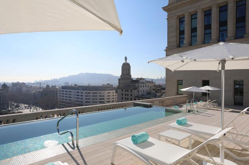 Mooi hotel in Barcelona