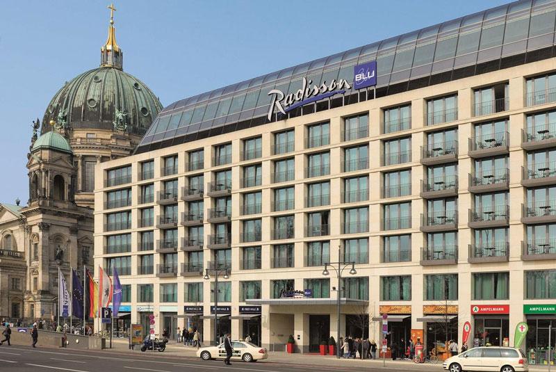 Mooi hotel in Berlijn