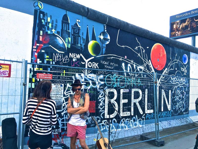 Berlijn met jongeren