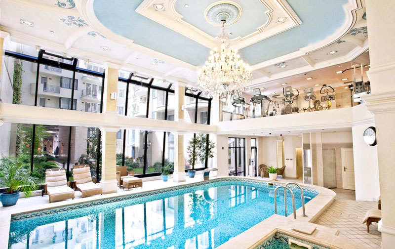 Mooi hotel in Boedapest