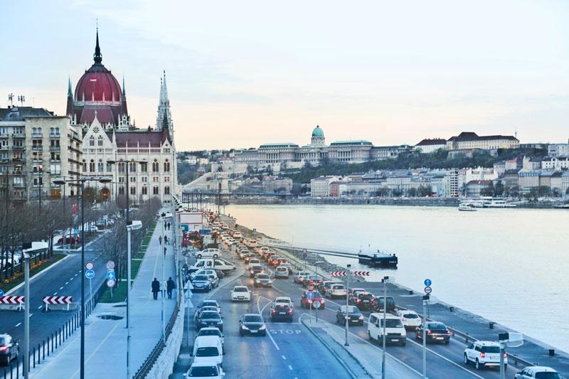 Boedapest met jongeren